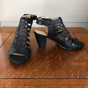 Naturalizer Talan Cutout Stacked Heel Sandal